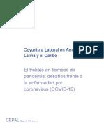 Coyuntura Laboral en América Latina y el Caribe  CEPAL