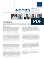 Colin Buchanan Economics Review 2010