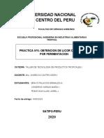 OBTENCION DE LICOR DE CITRICOS POR FERMENTACION Grupal