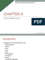 Chapter 8 Social Media Tools (Epjj)