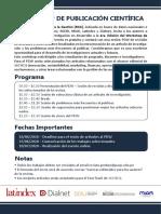 Workshop publicación científica