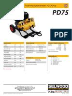 PD75 spate pump