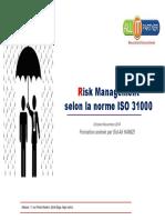 RiskManagement ISO31000_Oct2018