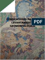 MANUAL DE CONVENCIONES PARA EL LEVANTAMIENTO GEOMORFOLÓGICO - I.T.C.