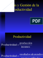 Análisis y Gestión de la Productividad