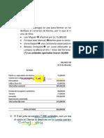 Estados Financieros - desarrollo LA UNION SAC con alumnos  - GQT