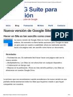 Portafolio 007 - Novedades de la Nueva Version de Google Site.pdf