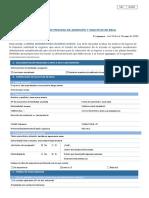 Formulario de Admisión y Solicitud Beca 2020 higiene industrial