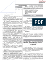 RESOLUCIÓN MINISTERIAL Nº 180-2020-EF/50