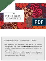 Slides - A psicologia e os antigos