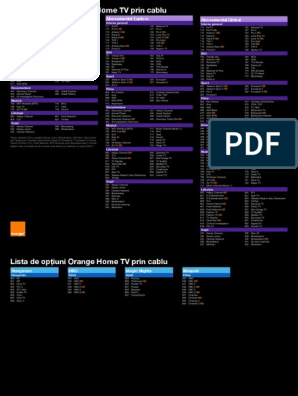 scaner de opțiuni