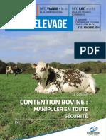 Contention bovine