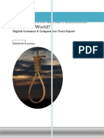 Capital Punishment in the Modern World