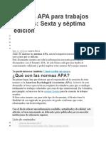Anexos 7ma edición Normas APA