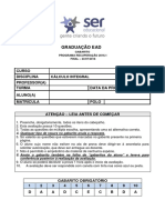 2016_1R_3 - CÁLCULO INTEGRAL