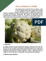 7 Beneficios Para La Salud De La Coliflor