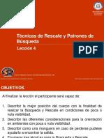 AV 4 - Tecnicas de Rescate y Patrones de Busqueda (1)