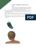Stimolazione del cuoio capelluto