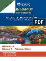1ra Clase Quechua