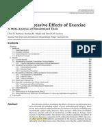 The antidepressive effects of exercise (Rethorst)