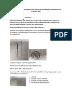 Desagregacion de Equipo, Fichas Tecnicas, Descripciones e Instrucciones