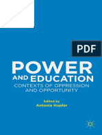 Antonia Kupfer Power and Education_ Contexts of Oppression and Opportunity  (1)