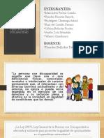 Diapositivas Acerca de Las Personas Con Discapacidad