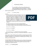 Principio multiplicativo y principio aditivo