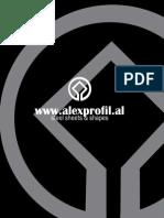 Alex Profil Broshur