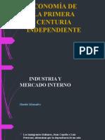 ECONOMÍA DE  LA PRIMERA CENTURIA INDEPENDIENTE.pptx