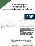 Amplificación de sistemas inducibles de defensa.