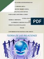 TEORIA DE LAS RELACIONES HUMANAS - ELTON MATO - 1ER SEMESTRE