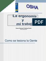 La Ergonomia