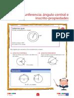 Circunferencia_ángulo central e inscrito_propiedades