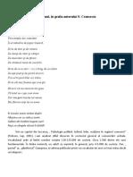 Poemul, în grafia dictatorului Nicolae Ceausescu