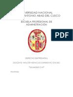 TRABAJO DERECHO S. CIVIL