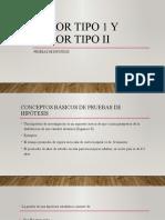 diapositiva error tipo 1 y tipo 2