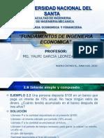 INGENIERIA ECONOMICA.- PRACTICA