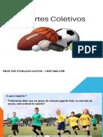 M.E.C - MODALIDADES ESPORTIVAS COLETIVAS