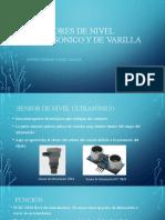 MEDIDORES DE NIVEL ULTRSONICO Y DE VARILLA