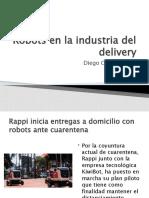 Robots en La Industria Del Delivery