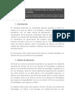 La nulidad de los acuerdos societarios bajo el artículo 38 de la Ley General de Sociedades