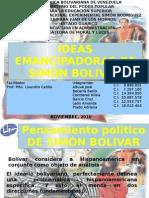 IDEAS EMANCIPADORAS DE SIMÓN BOLÍVAR2