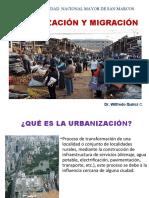 SESION 7 B  URBANIZACION Y MIGRACION SAN MARCOS 2019 DR QUIROZ
