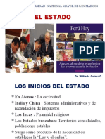 SESION 10  EL ESTADO Y LA CONSTITUCION POLITICA  SAN MARCOS 2019 DR QUIROZ