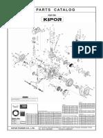KM186 parts drawings