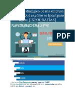 El Plan Estratégico de una empresa PyME