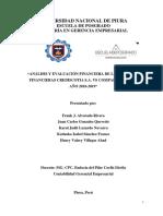 ANÁLISIS FINANCIERO DE CREDISCOTIA Y COMPARTAMOS 2018-2019