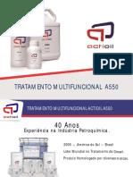 Apresentação ACTIOIL 2017