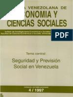 Seguridad y prevención social en Venezuela (sobre modernidad y posmodernidad)